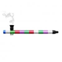 Трубка для курения травы Atomic Alu  0212760