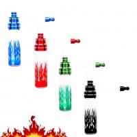 Трубка для курения травы Atomic Пламя 0212768
