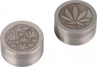 Гриндер металлический Cannabis 660101