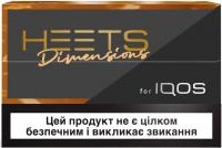 Блок стиков для нагревания табака HEETS Dimensions Noor