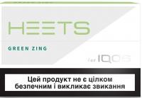 Блок стиков для нагревания табака Heets Green Zing