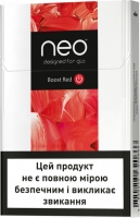 Блок стиков для нагревания табака GLO NEO STIKS Boost Red Rich Tobacco