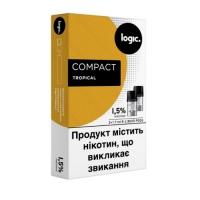 Капсулы (картриджи) LOGIC COMPACT - Tropical (Тропик)