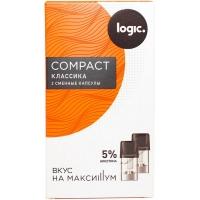 Капсулы (картриджи) LOGIC COMPACT - Классика 5%