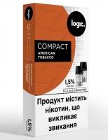 Капсулы (картриджи) LOGIC COMPACT - American Tobacco