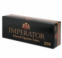 Фото 1 - Гильзы для набивки сигарет Tubes IMPERATOR BLACK 200