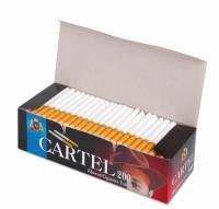 Фото 2 - Гильзы для набивки сигарет Tubes CARTEL 200
