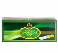 Фото 1 - Гильзы для набивки сигарет Tubes MAXI GOLD 200