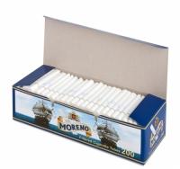 Фото 1 - Гильзы для набивки сигарет Tubes MORENO 200