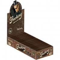 Фото 1 - Сигаретная бумага Smoking  Brown Medium 77мм