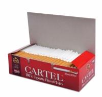 Фото 1 - Гильзы для набивки сигарет Tubes CARTEL Red