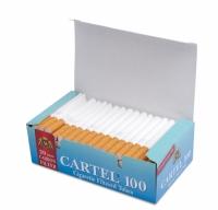 Фото 1 - Гильзы для набивки сигарет CARTEL 100 Carbon