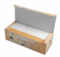 Фото 1 - Гильзы для набивки сигарет CARTEL Ваниль (200)