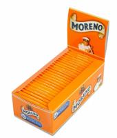 Фото 3 - Бумага сигаретная Moreno Orange