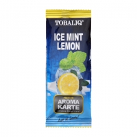 Ароматизирующая карта TobaliQ Ice Mint Lemon