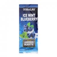 Ароматизирующая карта TobaliQ Ice Mint Blueberry